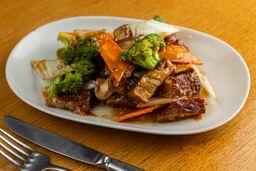 Tofu com Legumes e Cogumelos