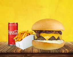 Combo Tasty Burger Bacon