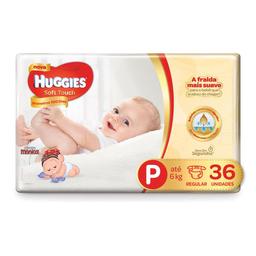 Huggies Fralda Turma Da Mônica Soft Touch Primeiros 100 Dias P