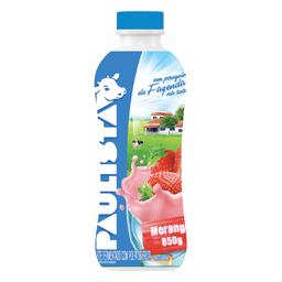 Paulista Bebida Láctea Líquida Morango