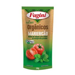 Fugini Molho Tomate Orgânico Manjericão Sachê