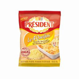 President Queijo Parmesão Ralado 4 Queijos