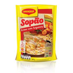 Maggi Sopao Carne Macarrão e Legumes