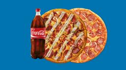 2 Pizzas Grandes Especialidades R$45,5 CADA  + Coca 2L RAPPIG2