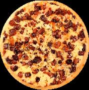 Pizza de Bacon Caipira