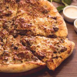 Pizza de Carne Seca com Cheedar