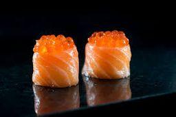 Sushi de Ovas de Salmão