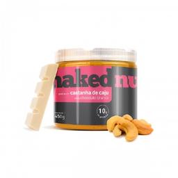 Naked Nuts Pasta de Castanha de Cajú Com Chocolate Branco