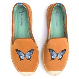 Espadrille Butterfly Solado Alto Camurça Tamanho 35