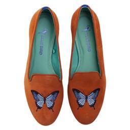 Loafer Butterfly Camurça Tamanho 38