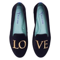 Loafer Love Clássico Ouro Camurça Tamanho 36