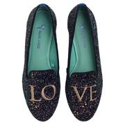 Loafer Love Glitter Tamanho 34