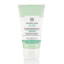 Loção Hidratante Facial FPS15 Aloe Vera The Body Shop 50 mL