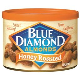 Amêndoa Blue Diamond Honey Roasted 90 g