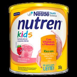Nutren Kids Nestle Morango Lata 350 g
