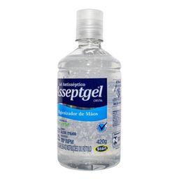 Álcool Gel Anti-Septico Asseptgel 420 g