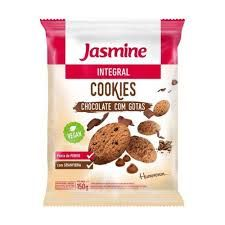 Cookie Jasmine Integrais De Chocolate Com Gotas 200 g
