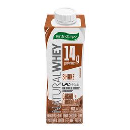 Verde Campo Bebida Lactea Sem Lactose Whey Chocolate