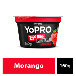Yopro Iogurte Proteín Morango 160g