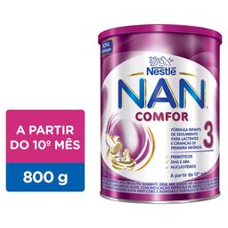 Nan Comfor Fórmula Infantil Nan Comfor 3 800G