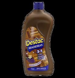 10.1% em 3 Unid Destac Limpador Madeira 750Ml Uso Direto