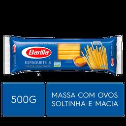 Barilla Macarrão Italiano Com Ovos Espaguete Nº 8 Pacote