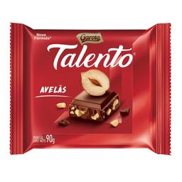4% em 3 Unid Talento Chocolate Garoto Ao Leite Com Avelã