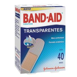 Band Aid Band-Aid Curativos Transparente 40 Unidades