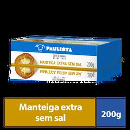 Manteiga Paulista Com Sal 200g