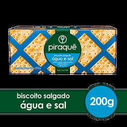 Piraquê Biscoito De Agua E Sal