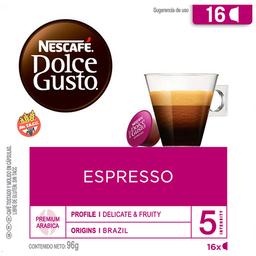 Dolce Gusto Capsulas Cafe Espresso Com 16