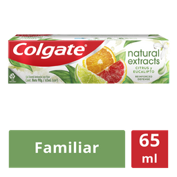 Colgate Creme Dental Natural Extracts Reinforced
