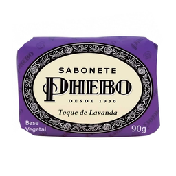 Phebo Sabonete Vegetal Glicerinado Toque De Lavanda