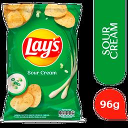 Lays Batata Frita Lisa Creme de Cebola Pacote