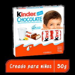 Kinder Chocolate - 4 unidades
