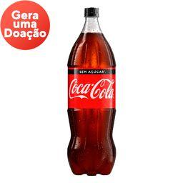 coca cola sem açúcar 1,5L