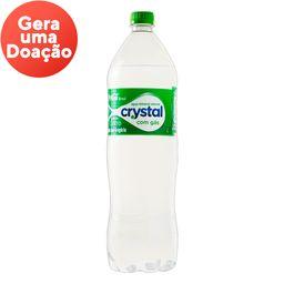 água com gás crystal 1,5l