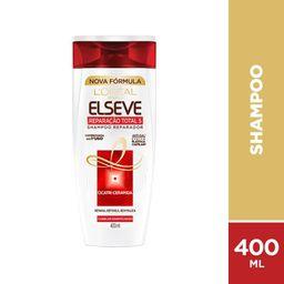 Loreal Paris-Elseve Shampoo Reparação Total 5+ Elseva 400Ml