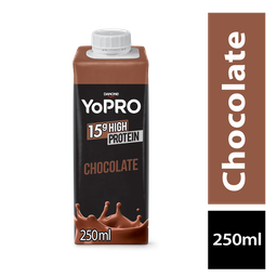 LEVE 6 PAGUE 5 Yopro Bebida Lactea Com De Proteína Chocolate