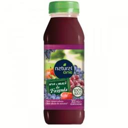Suco Natural da Fazenda Uva e Maçã 300 mL