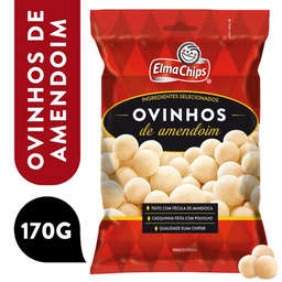 Elma Chips Ovinhos De Amendoim Pacote