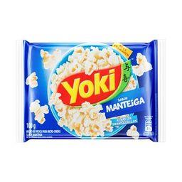 Yoki Pipoca Natural com Sal 0% Gorduras Transgênicas 85 g