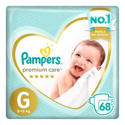 Pampers Fralda Jumbo Premium Care G