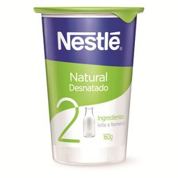 Nestlé Natural Nestle Iog Natural Desnatado 28X160G Br