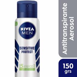 Nivea Men Desodorante Aerosol Sensivel Protect Masculino