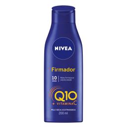 40% DESCONTO NA 2� UNIDADE Nivea Locao Hidratante Firmador Q10 Vitamina C Pele Seca
