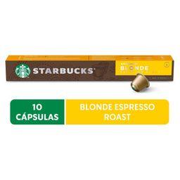 Dolce Gusto Cafe Em Capsulas Starbucks Espresso Roast Blond