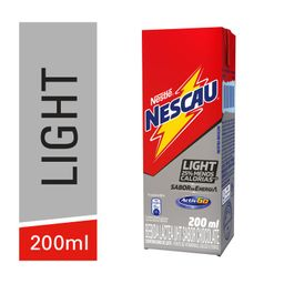Nescau Bebida Lactea Sabor Chocolate Light Nestle