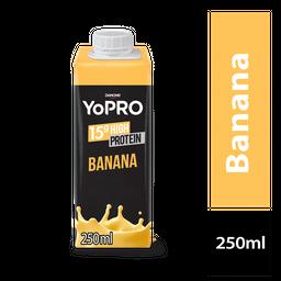 Yopro Bebida Lactea Com De Proteína Banana