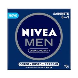 40% DESCONTO NA 2� UNIDADE Nivea Men Sabonete Hidratante Original 3 Em 1